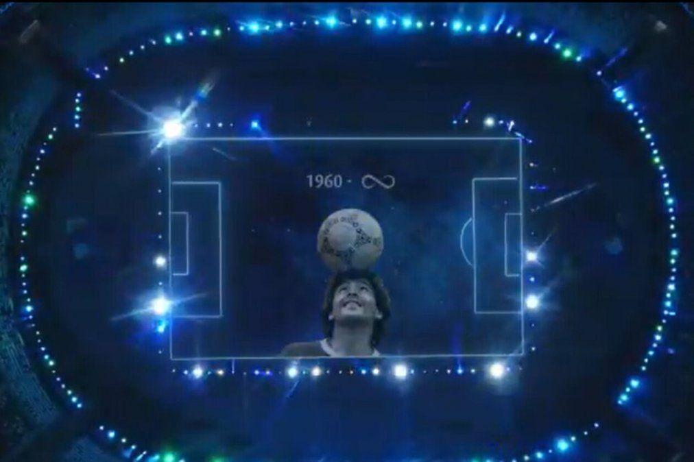 El sentido homenaje para Maradona en la previa de Argentina vs Chile