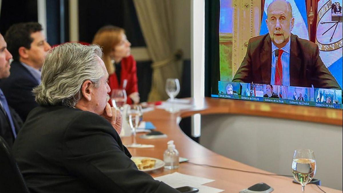 Reunión entre Alberto Fernández y Diputados por la pospandemia