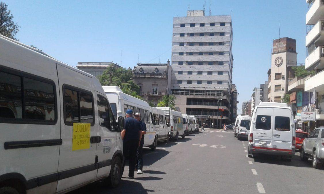 Transportistas piden por un canon mensual que los habilite