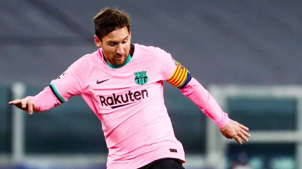 Goles de Messi y Joaquín Correa en la Champions League