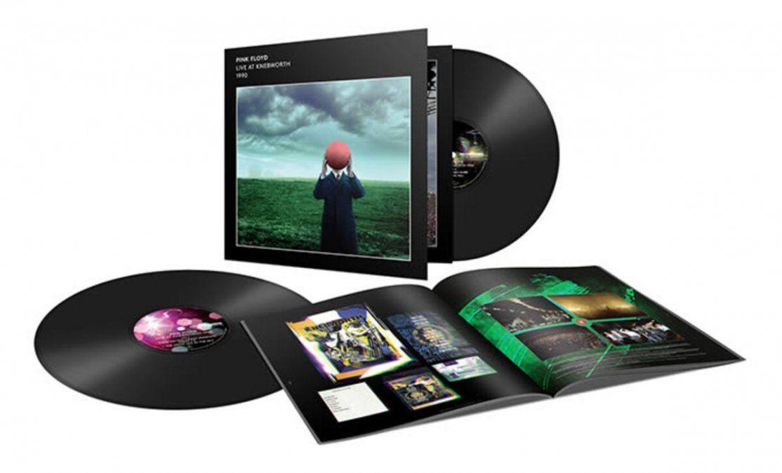 Pink Floyd Live at Knebworth 1990 fue lanzado en CD y plataformas digitales