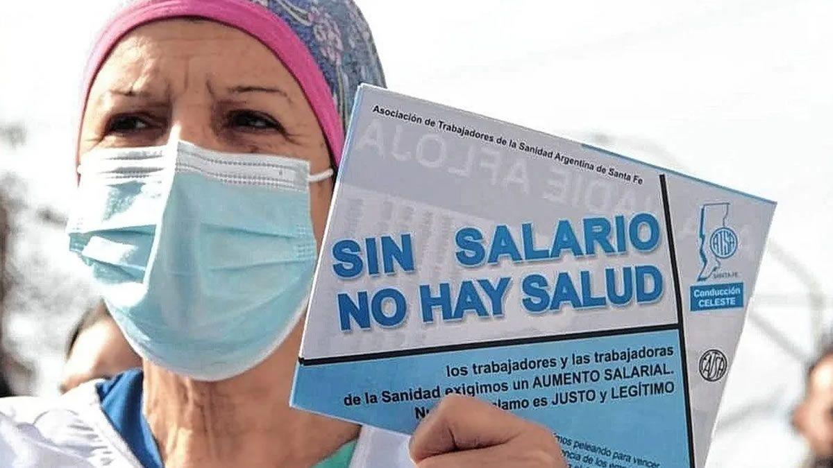 Trabajadores de la Sanidad convocan a un paro nacional por 24 horas