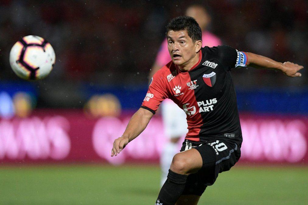 Luis Rodríguez fue capitán y bandera de Colón cuando jugó la final de la Copa Sudamericana.