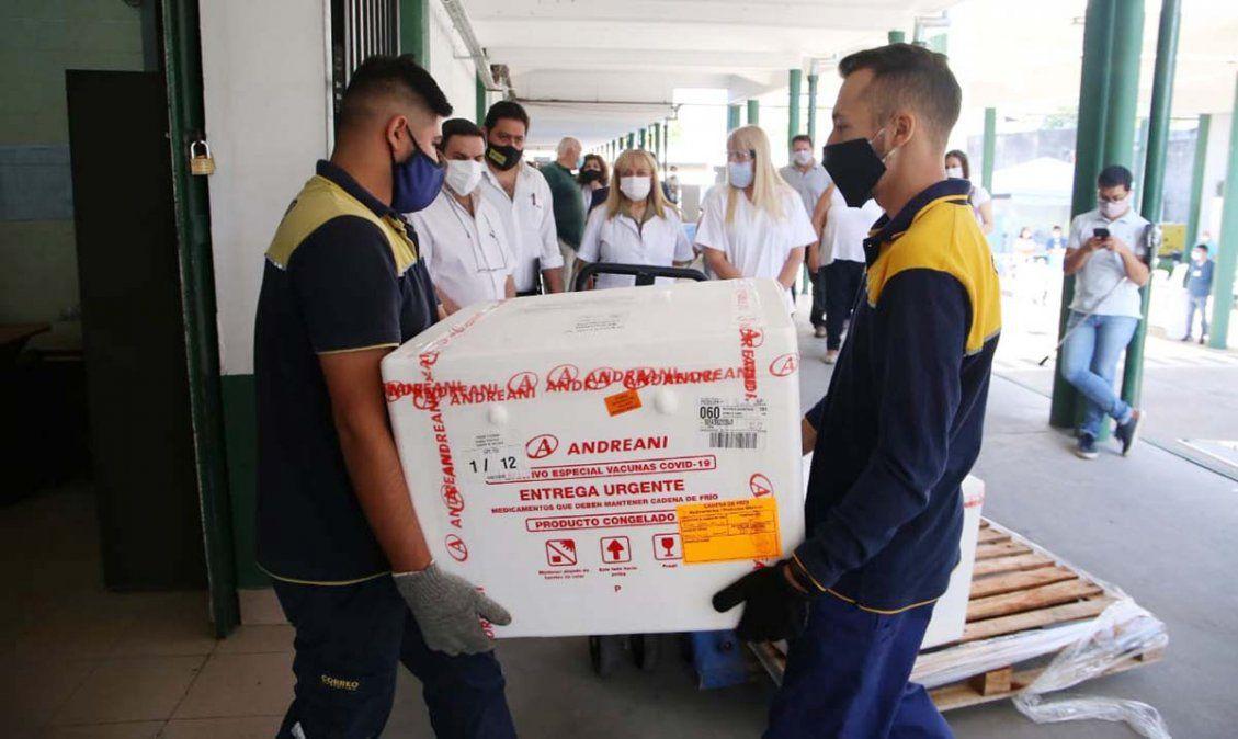 Vacuna covid: llegaron 6.000 dosis más a Tucumán