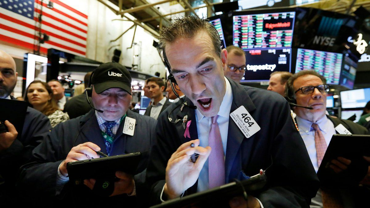Las acciones argentinas registraron fuertes bajas