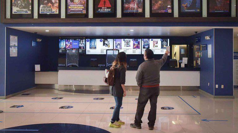 Los cines vuelven distintas jurisdicciones.