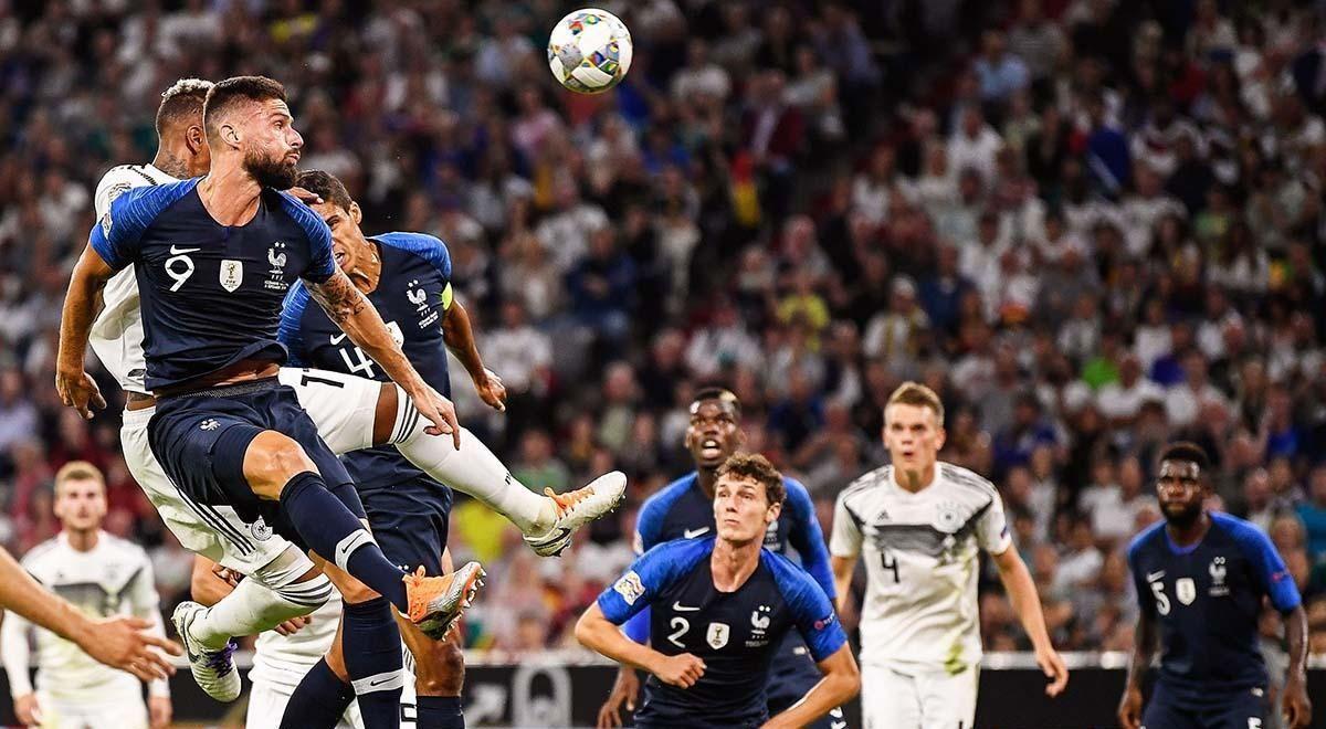 Francia intentará derrotar a una difícil Selección Alemana.