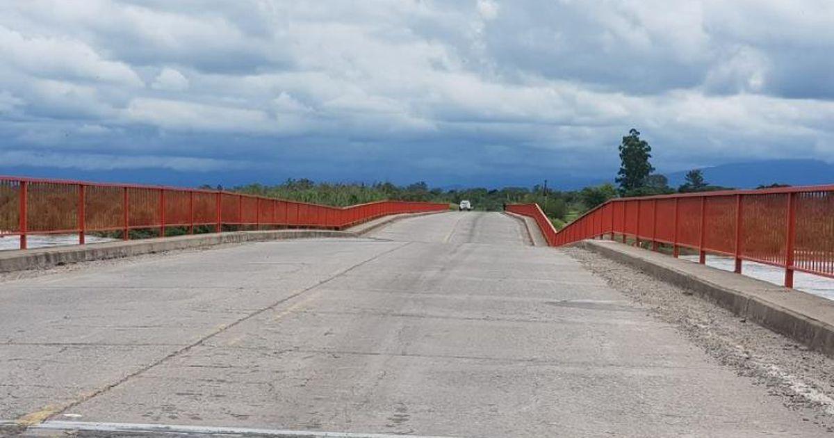 Inhabilitan el paso por el puente de la Ruta N° 321