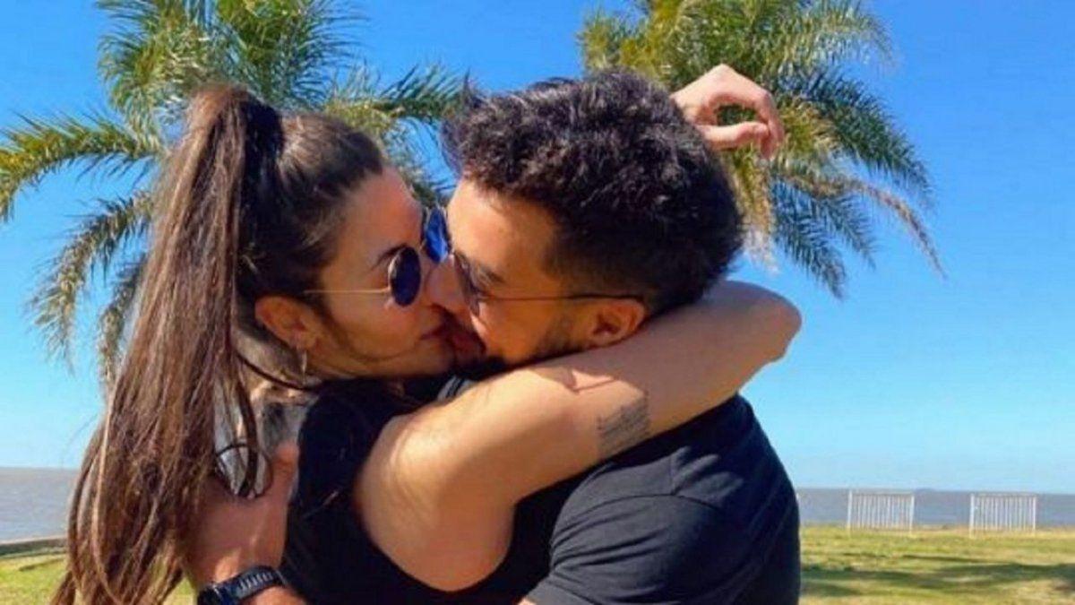 Ivana Nadal borró las fotos con su novio