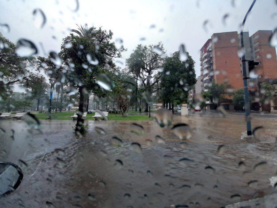 Tucumán con lluvias, al inicio de la semana.