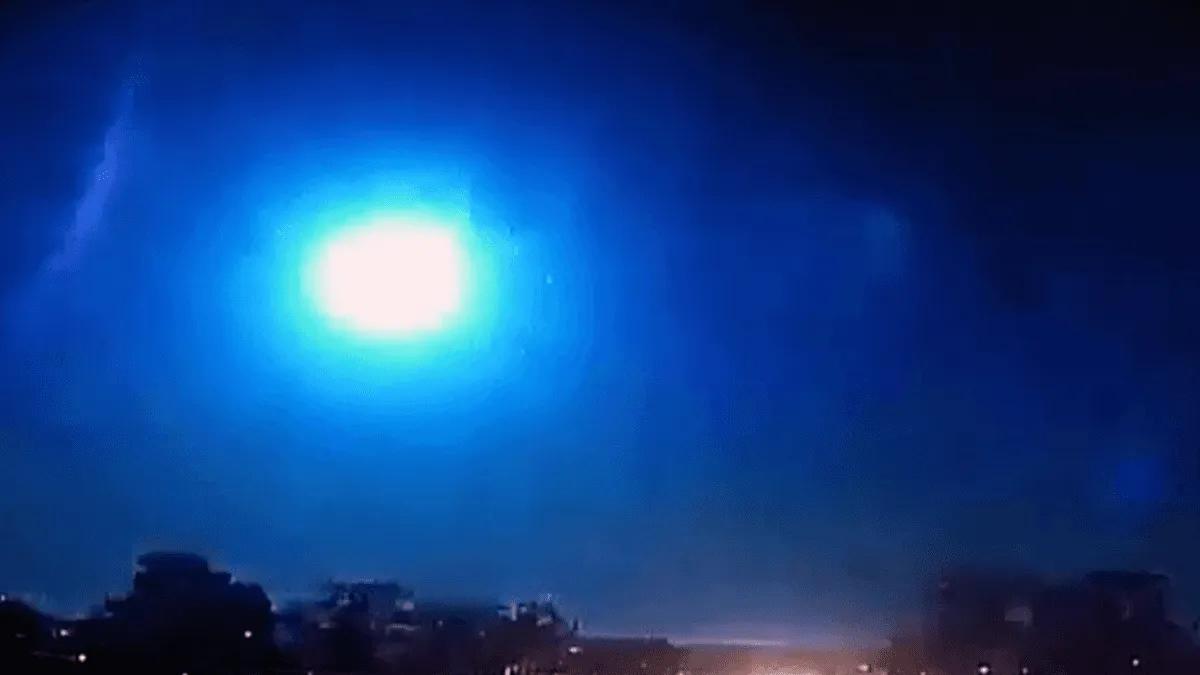 Brasil: explotó un meteorito e ilumino todo el cielo