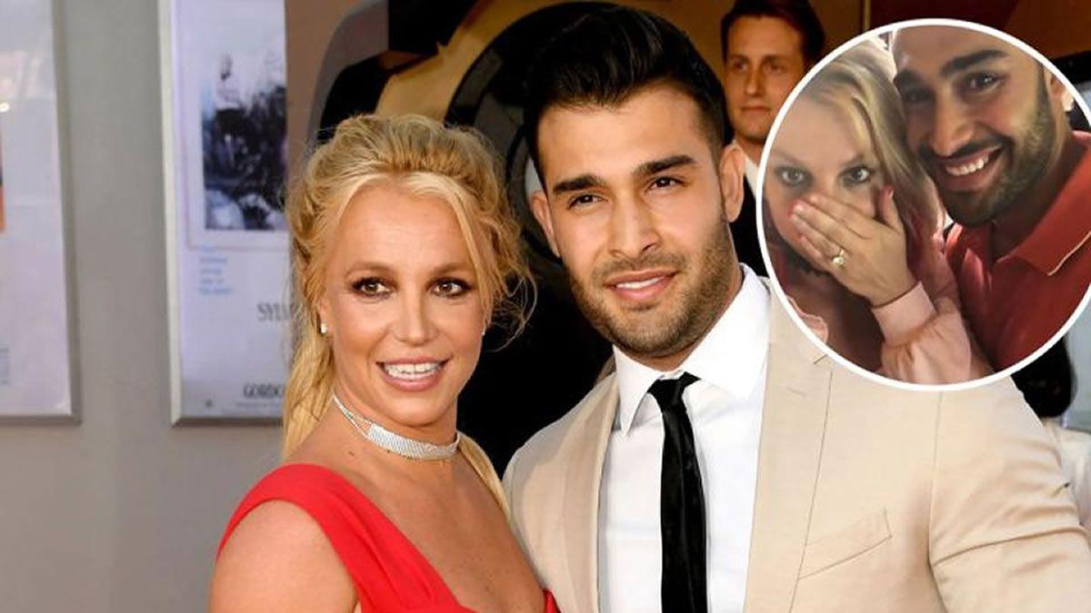 Britney Spears anunció que se casará con Sam Asghari