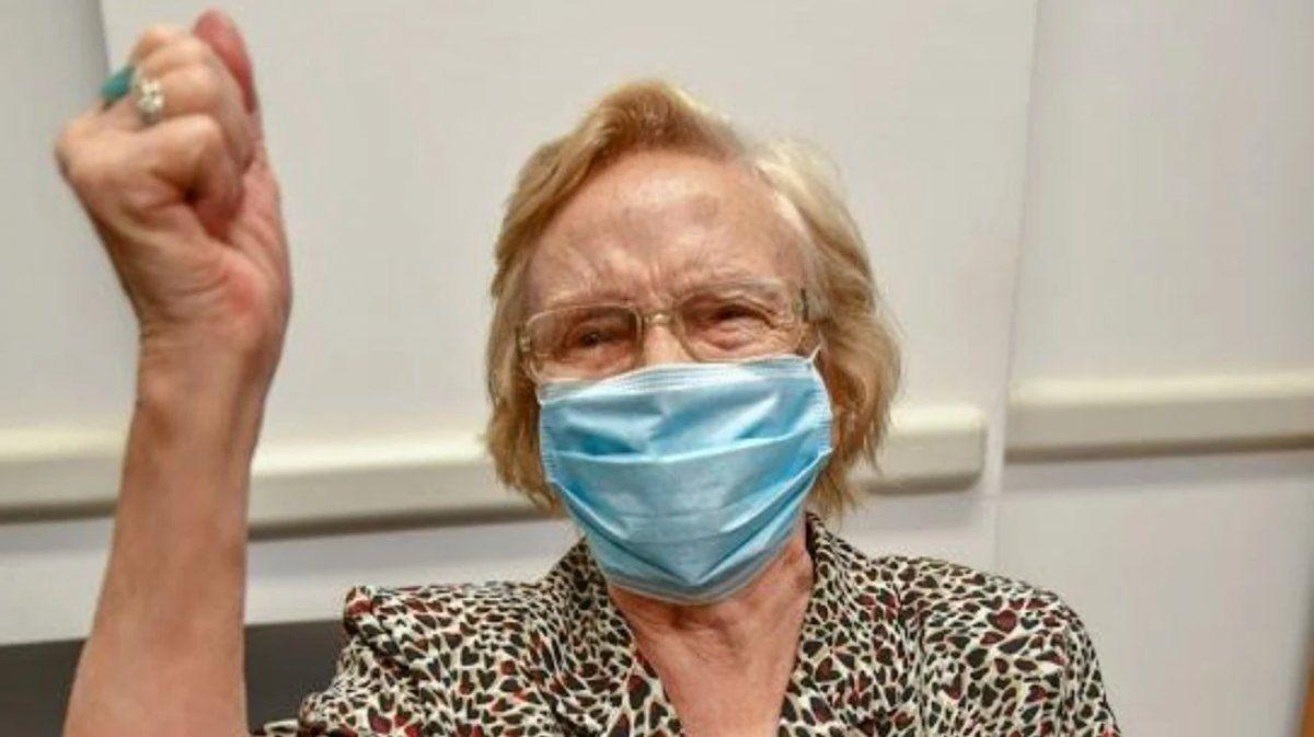 Coronavirus: la vacunada número 1 millón en la Argentina