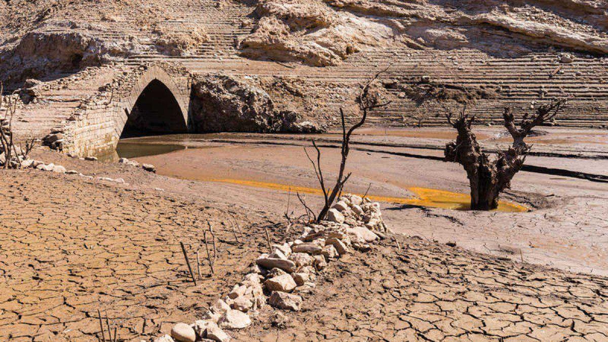 Sequía en Europa.
