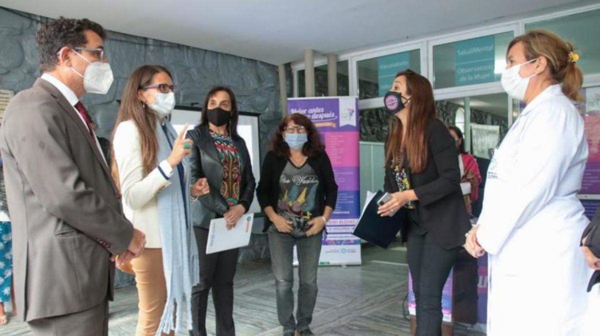 Gómez Alcorta visitó el Observatorio de la Mujer en Tucumán