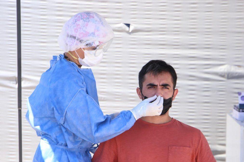La provincia superó los 148 mil casos de Covid-19. Foto MSPT