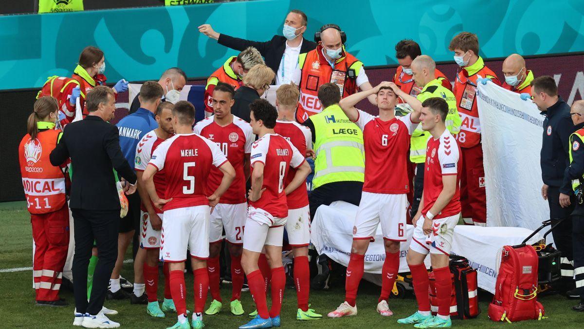 Eurocopa: Christian Eriksen se desmayó y lo reanimaron con RCP