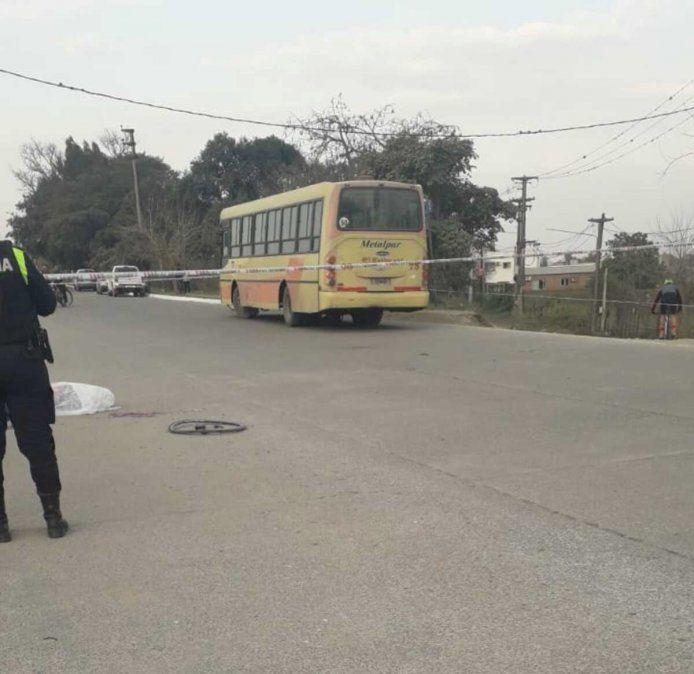 Yerba Buena: ciclista murió atropellado por un colectivo