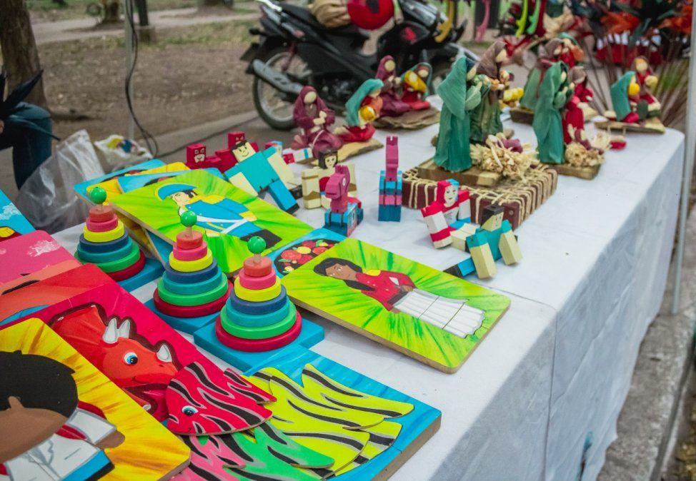 La feria de artesanos Manuel Belgrano regresará al Parque Avellaneda este domingo.