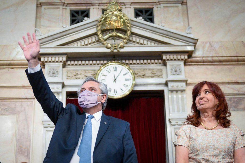 El presidente se cruzó con Fernando Iglesias
