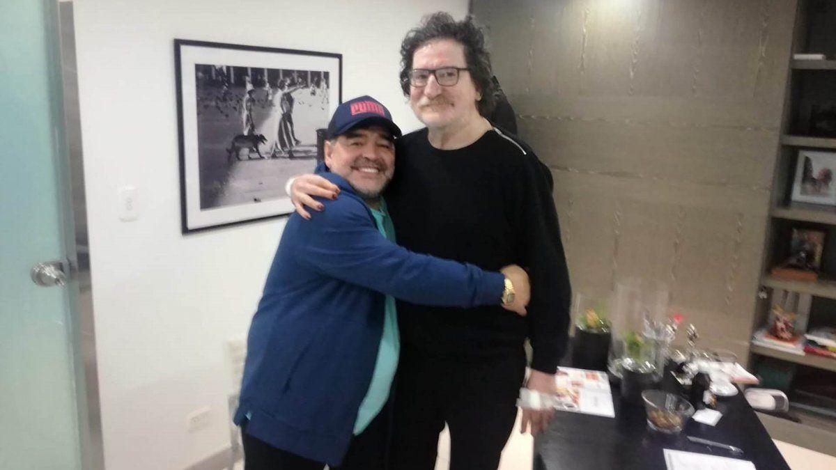 La emotiva carta de Charly García para Diego Maradona
