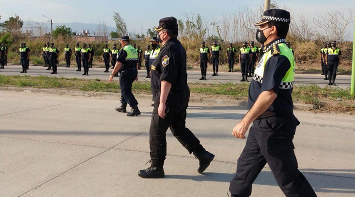 La Policía de Tucumán y un panorama para 2021 que continuará con su personal enfocado en la pandemia.