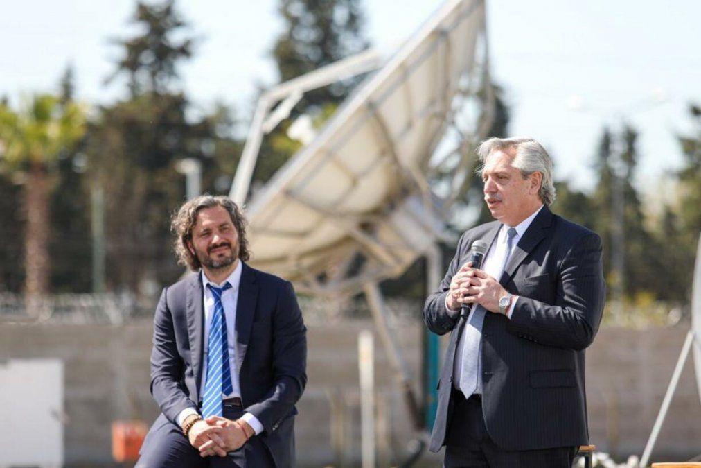 Alberto Fernández presentó el Plan Nacional de Conectividad