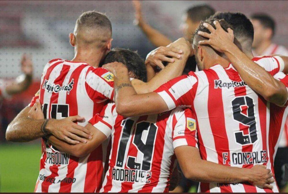 Estudiantes logró un triunfo ante Platense y está en cuartos. Foto: diariopopular.com.ar