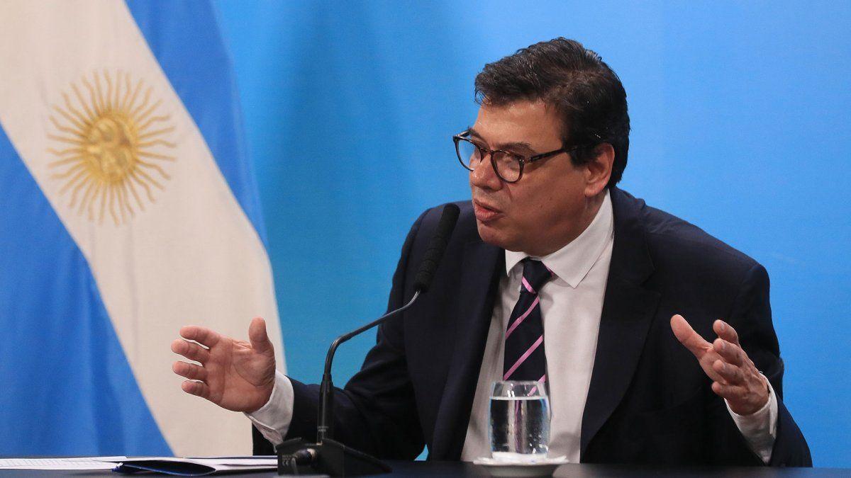 """Claudio Moroni: """"La vocación de este Gobierno es que el salario real crezca"""""""