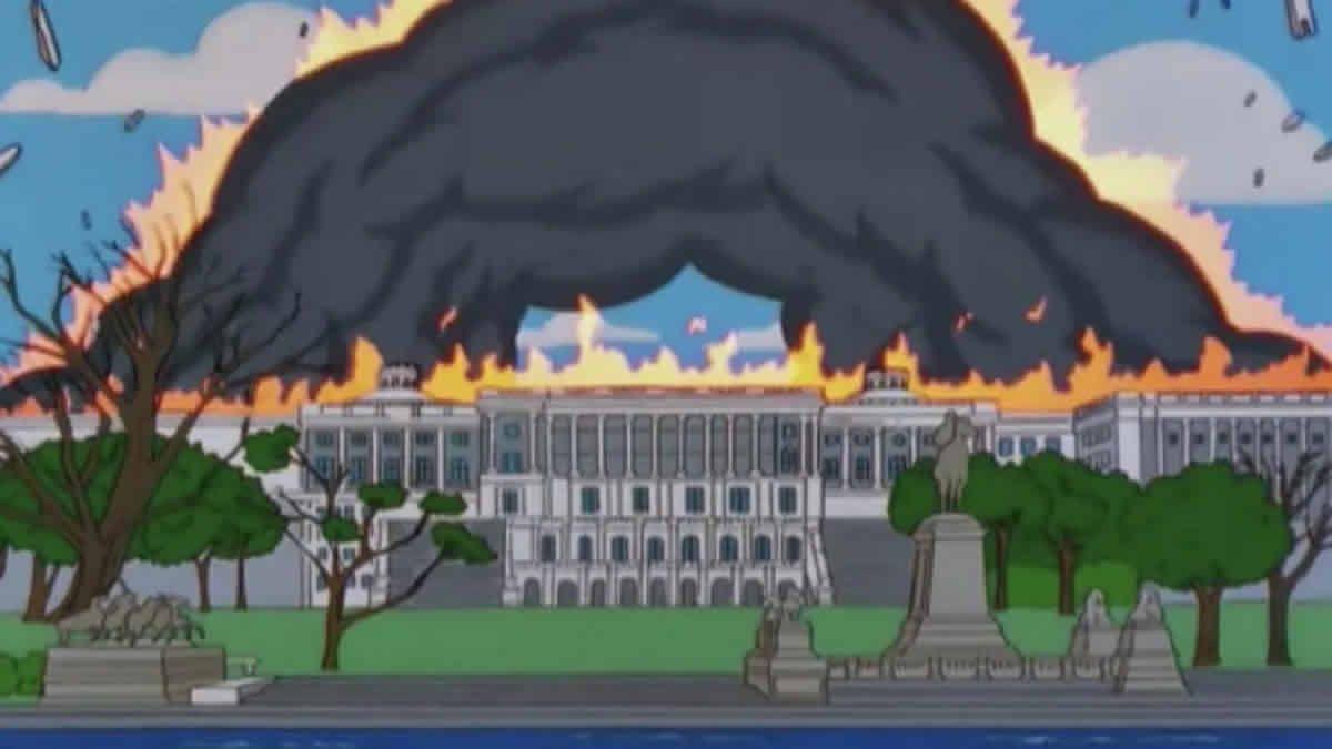 Los Simpson lo hicieron otra vez: predijeron el ataque al Capitolio