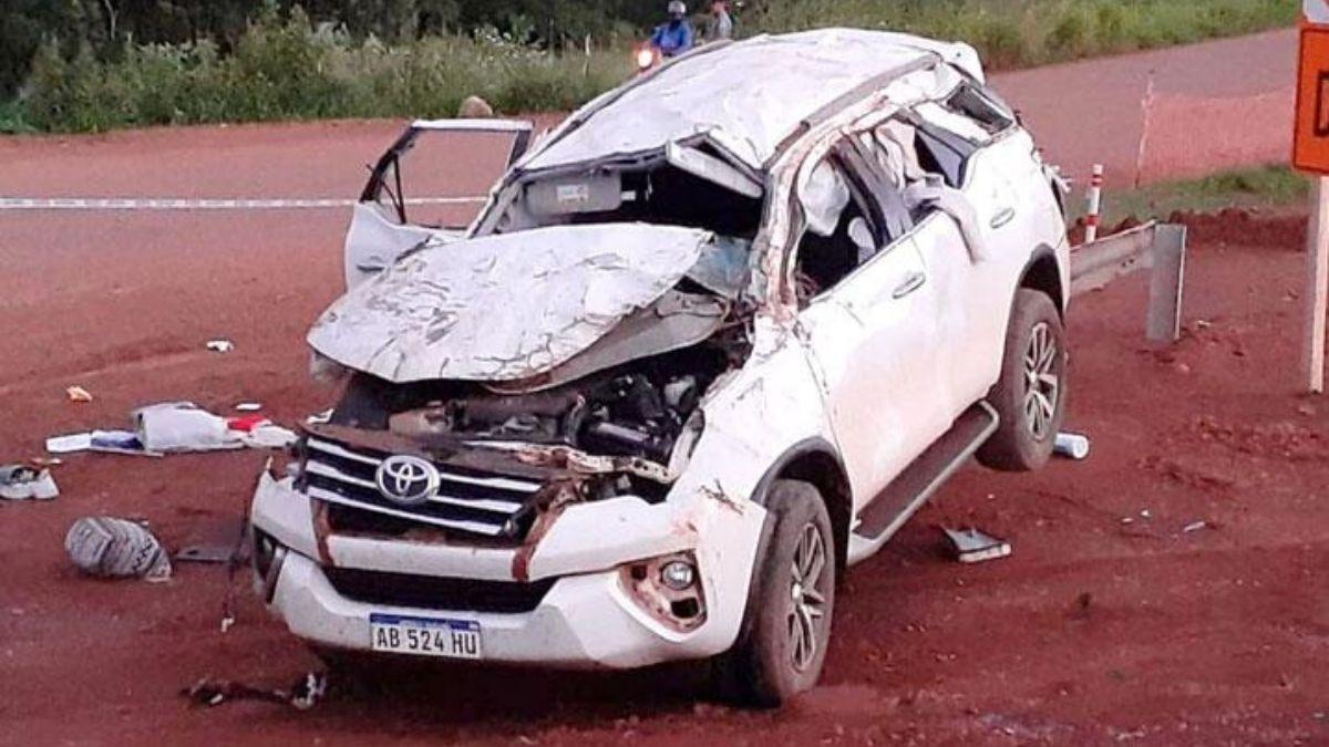 Murió en un accidente de tránsito Stella Maris Leverberg